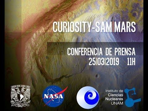 Conferencia de prensa conjunta UNAM y la NASA