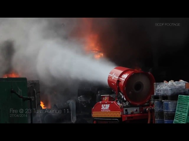 LUF 60 Unmanned Fire Fighting Robot