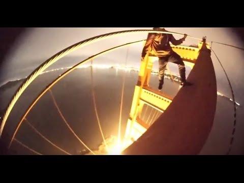 Climbing The Golden Gate Bridge Teens Release Video Of