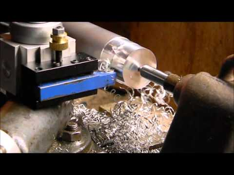 Cheap tool post on #craftsman #109 metal lathe