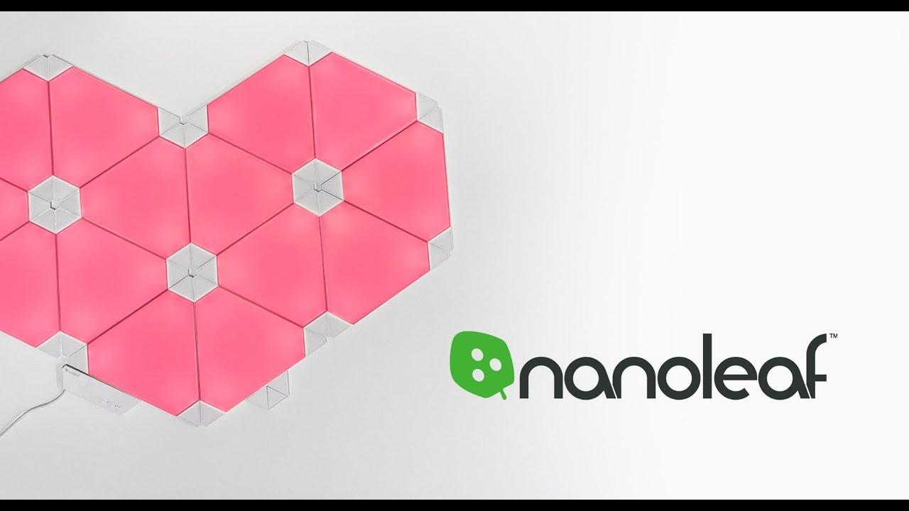Nanoleaf Aurora Rhythm Valentinsherz Gewinnspiel Von Click Licht De