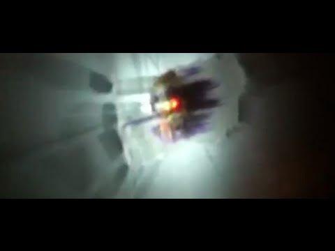 Extreme CRT Monitor Phosphor Burn-in