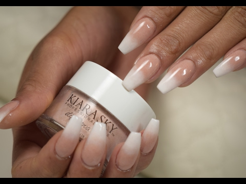 KIARA SKY NAILS DIP SYSTEM: OMBRE NAILS