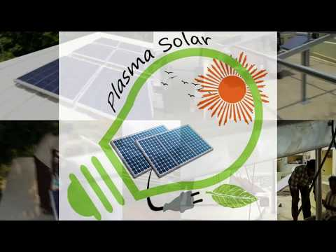 Solar Panels on terrace as shed for space optimization - PLASMASOLAR