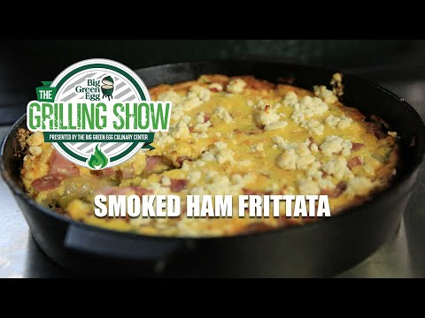 The Grilling Show Smoked Ham Frittata
