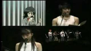 Bleach cast-LIVE