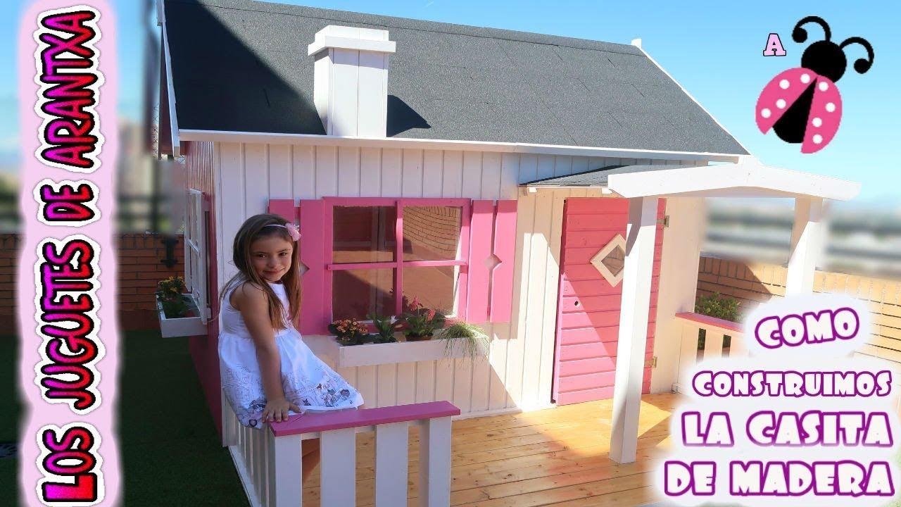 Mi casita de madera como la construimos youtube - La casita de madera ...
