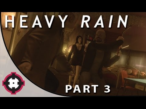 Heavy Rain Blind Let's Play Gameplay PS4 // Part 3 - Save the Stripper!