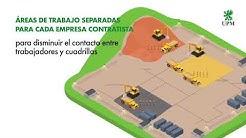Medidas de prevención por Covid-19 para el reinicio de la construcción en UPM Paso de los Toros