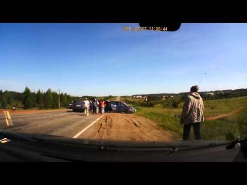 Авария в с. Ленинск под Кудымкаром