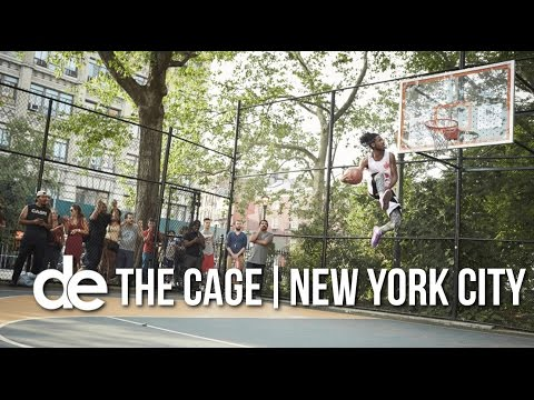 Dunk Elite: The Cage, NYC Takeover