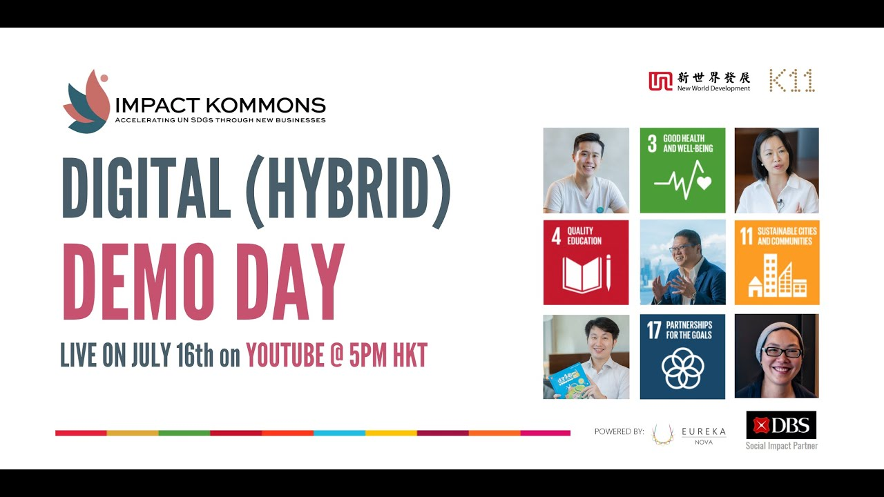 Impact Kommons Digital (Hybrid) Demo Day | Powered by Eureka Nova