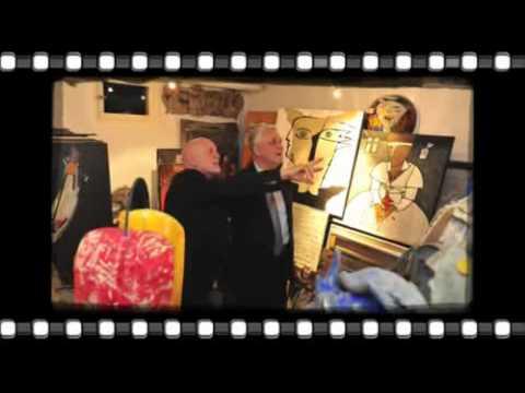 Visite de l'atelier de Paul Flickinger