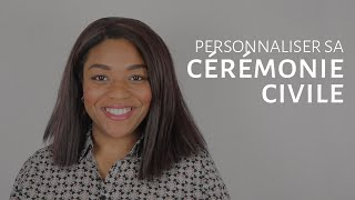 Personnaliser sa cérémonie civile [Dentelle TV #13]