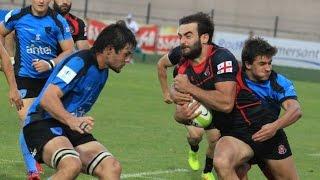 თბილისის თასი Tbilisi Cup 2015 RND1 საქართველო Georgia 19:10 ურუგვაი Uruguay