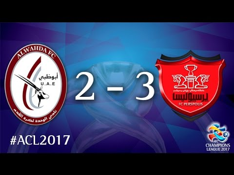 Al Wahda vs Persepolis FC (AFC Champions League 2017 : Group Stage - MD2)