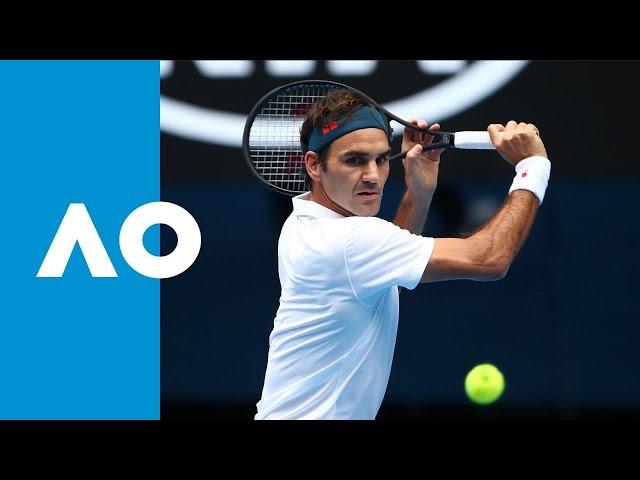 Roger Federer v Daniel Evans match highlights (2R) | Australian Open 2019