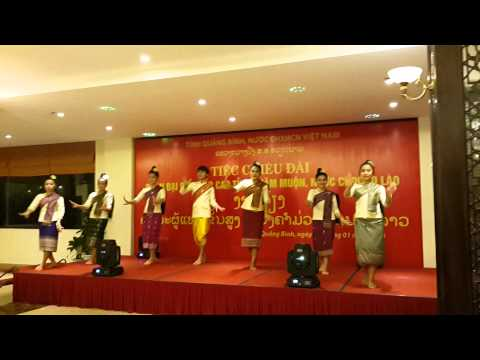 Hoa Cham Pa Laos Traditional Dance By Laos Students At Quang Binh University 4