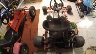 mon karting électrique moteur alternateur brushless