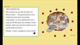Немецкий язык по *бабушкиным рецептам*. *Omas Rezepte* KIRRSCHPFANNE