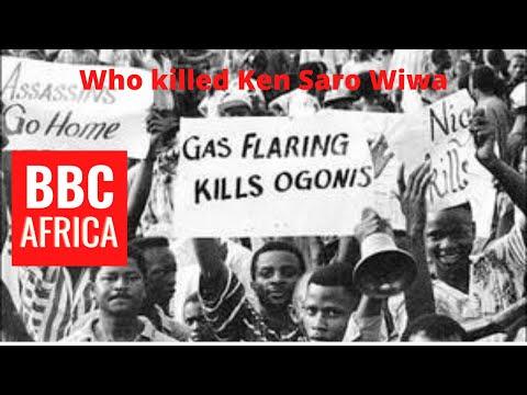 Who killed Ken Saro Wiwa and Ogoni Nine | Gen. Sani Abacha o