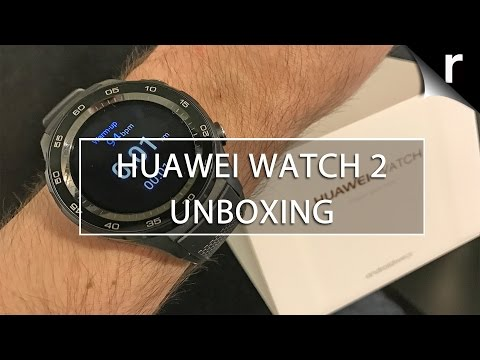 Huawei Watch 2 Unboxing and Hands-on Review: Android Wear 2.0 FTW