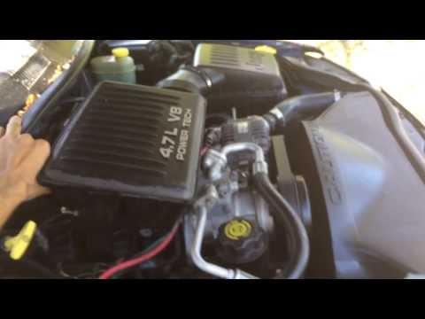 Jeep Grand Cherokee engine knock, rattling & sputter