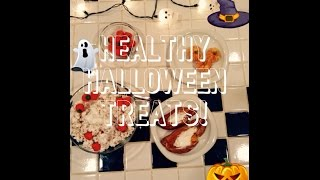 Healthy Halloween Snacks! EASY DIY! Thumbnail