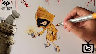 How to Draw Six - Little Nightmares