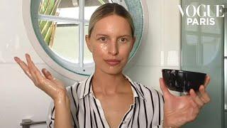 Model Karolína Kurkovás 10 DIY natural beauty hacks  Vogue Paris