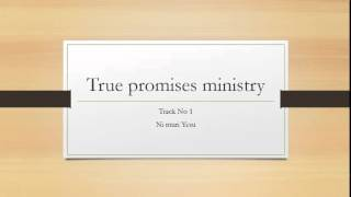 True promises ministry track no 1