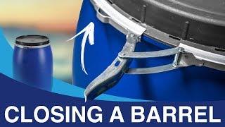 How to close a barrel