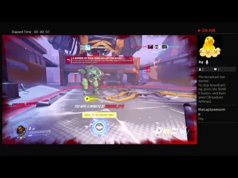 Captain Awesome's Livestream: Season 6 Competitive 9/11/17