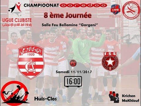 Live Handball : Club Africain - E.S de Sahel
