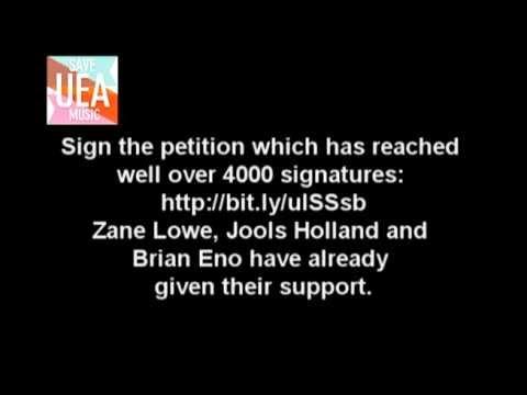 Save UEA Music