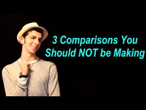 3 Comparisons You Should Not Make