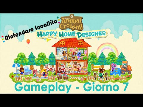 Gameplay Animal Crossing Happy Home Designer - Giorno 7