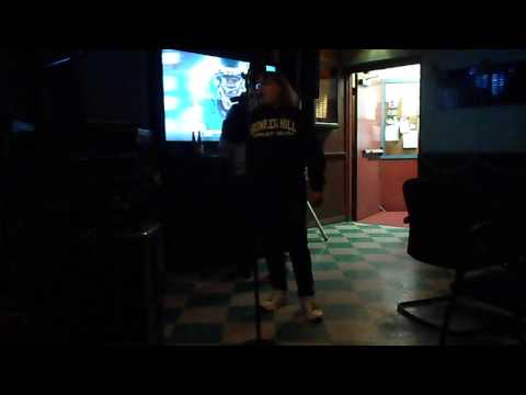 Me singing Heal The World at karaoke, Sunday December 14, 2014