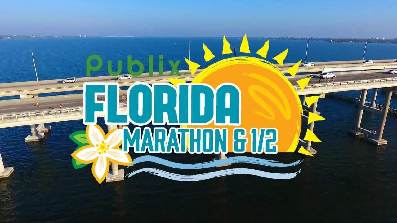 12th Florida Marathon and Half Marathon (Publix Florida Marathon & 1/2) 2021. Melbourne, Florida, USA. February 2021 | LetSportPeople.com
