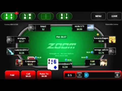 Poker Stars на Андроид (Геймплей) скачать APK