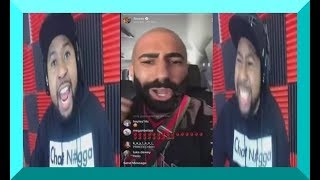 Dj akademiks GOES OFF on FouseyTube for calling him out