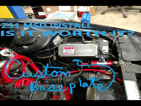 Ep.72 300zx Z31 MSD Ignition Install Is It Worth It? Z31 Part 4