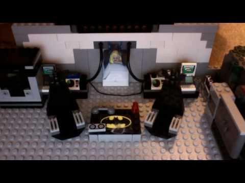 Lego Batcave Custom Instructions