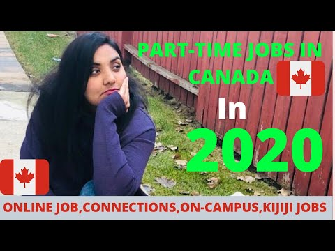 PART-TIME JOBS IN CANADA IN 2020 | INTERNATIONAL STUDENT JOBS IN CANADA