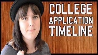 College Admissions: College Application Timeline - Freshman to Senior Year