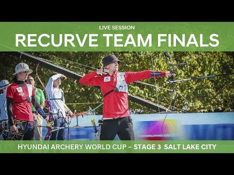 Full session: Recurve Team Finals  Salt Lake City 2017 Hyundai Archery World Cup S3