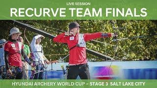 Full session: Recurve Team Finals | Salt Lake City 2017 Hyundai Archery World Cup S3 thumbnail