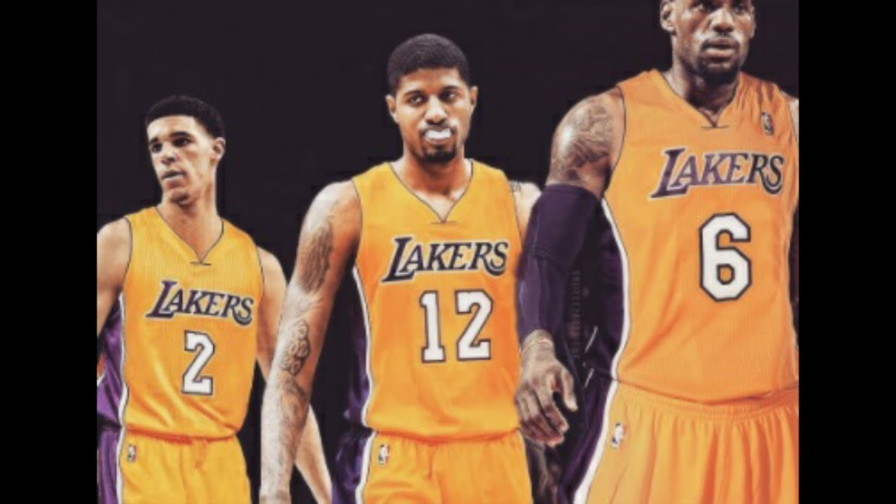 Image result for lebron pg lakers