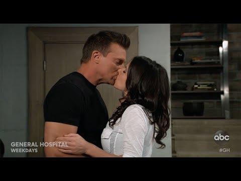 Sam Thanks Jason With A Kiss