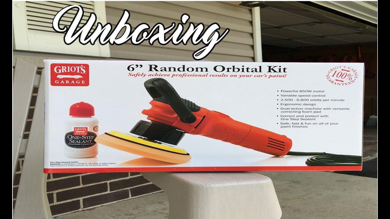 "Griot's Garage 6"" Random Orbital Polisher Unboxing"